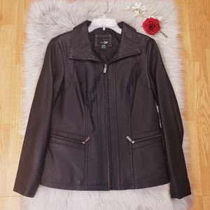 New East 5th Genuine Leather Jacket $250